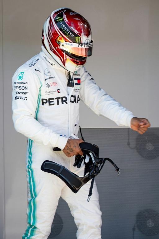 Le Britannique Lewis Hamilton lors des qualifications du GP de F1 d'Autriche le 29 juin 2019 [CHRISTIAN BRUNA / POOL/AFP]