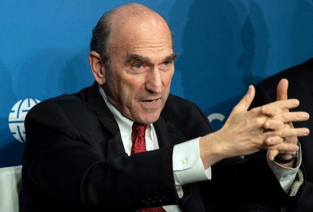 L'émissaire américain pour le Venezuela Elliot Abrams [NICHOLAS KAMM / AFP/Archives]