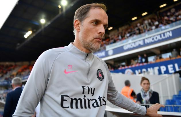 L'entraîneur du PSG Thomas Tuchel lors de la défaite à Montpellier en match décalé de la 34e journée le 30 avril 2019  [Pascal GUYOT / AFP]