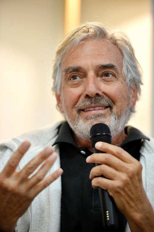 L'écrivain français Jean-Paul Dubois, en septembre 2016 à Toulouse [Rémy GABALDA / AFP/Archives]
