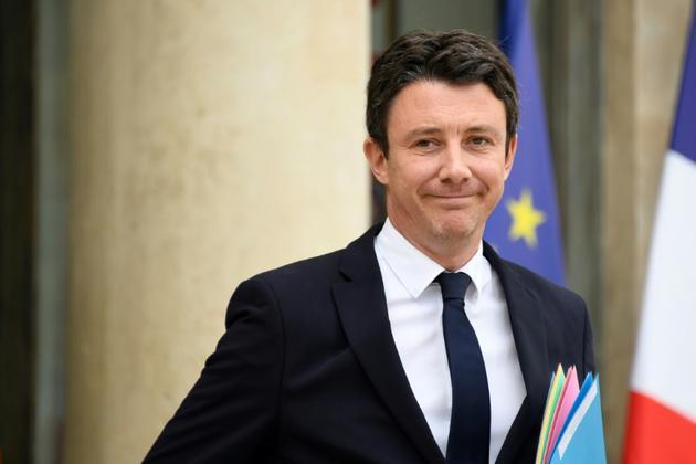 Le porte-parole du gouvernement, Benjamin Griveaux, à Paris le 11 juillet 2018 [Bertrand GUAY / AFP/Archives]