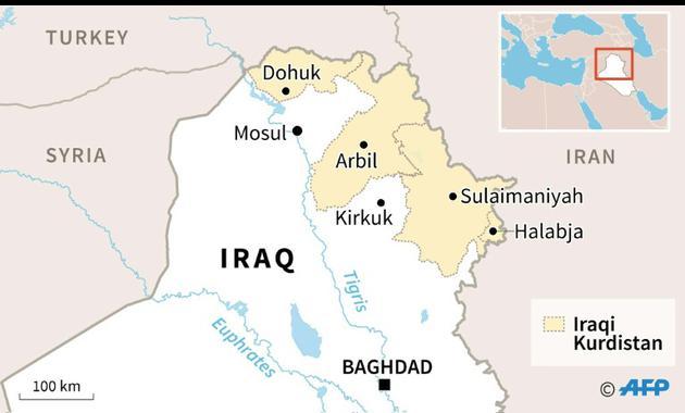 Iraqi Kurdistan [Gillian HANDYSIDE / AFP]