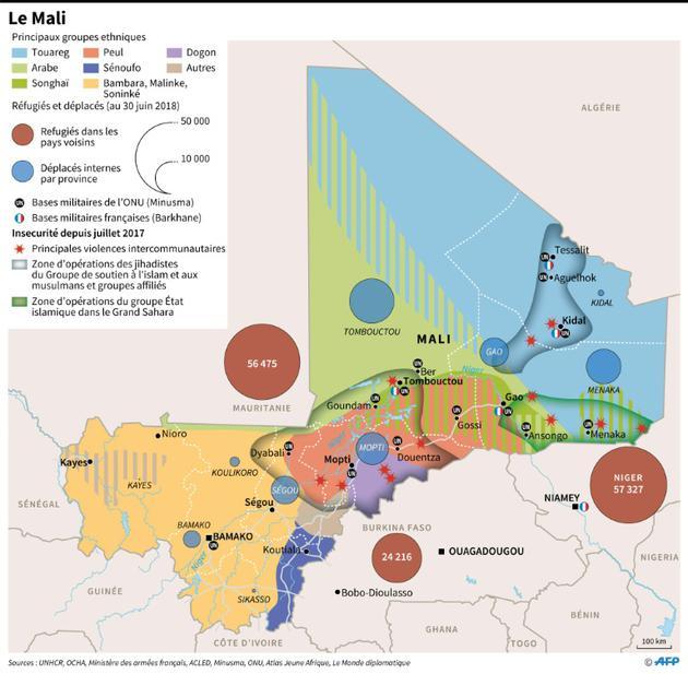 Le Mali [ / AFP]