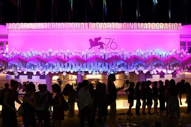 Le Palazzo del Cinema de Venise où se déroule la 76e Mostra, le 29 août 2019 [Vincenzo PINTO                       / AFP/Archives]