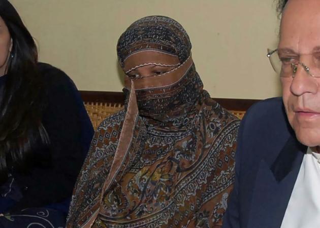 Asia Bibi dans la prison de Sheikhupura au Pakistan, le 20 novembre 2010 [Handout / DGPR Punjab/AFP/Archives]