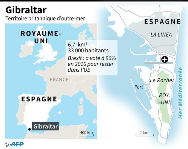 Gibraltar [Kun TIAN / AFP]
