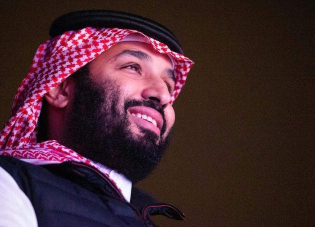 Le prince héritier saoudien Mohammed ben Salmane, près de Ryad le 7 décembre 2019 [Bandar AL-JALOUD / Saudi Royal Palace/AFP/Archives]