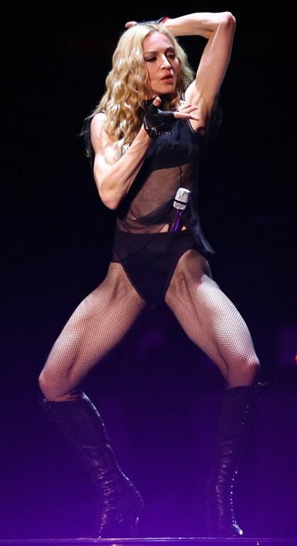 Madonna est restée très controversée sur plusieurs décennies [LEON NEAL / AFP/Archives]