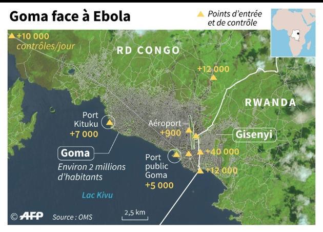 Goma face à Ebola [Simon MALFATTO / AFP]