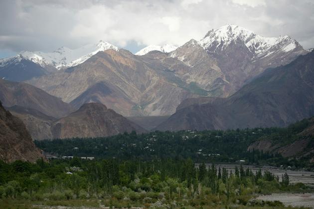 La régin du village de Booni au Pakistan, le 18 mai 2019, dans le Chitral [AAMIR QURESHI / AFP]