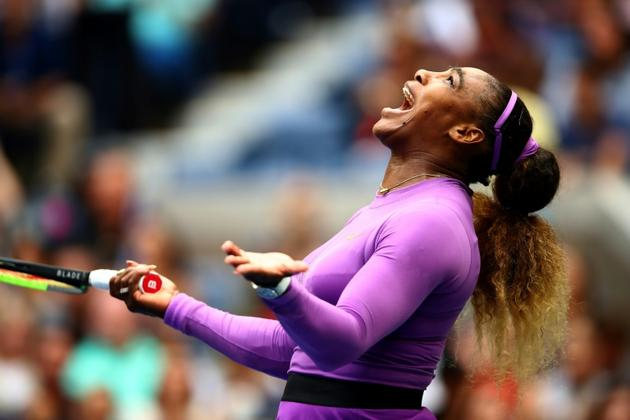 Serena Williams, le 7 septembre 2019 à New York [CLIVE BRUNSKILL / GETTY IMAGES NORTH AMERICA/AFP]