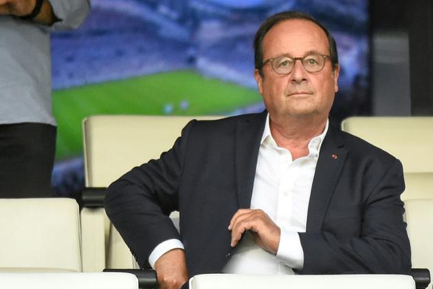 François Hollande le 13 août 2018 au stade Vélodrome à Marseille [Boris HORVAT / AFP/Archives]