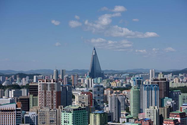Vue de Pyongyang, le 7 septembre 2018 en Corée du Nord [Ed JONES / AFP/Archives]