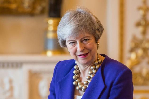 La Première ministre britannique Theresa May à Buckhingham Palace, le 5 mars 2019 à Londres [Dominic Lipinski / POOL/AFP]