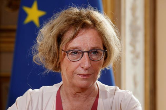 La ministre du Travail Muriel Pénicaud à l'Elysée, le 5 septembre 2018 [Thibault Camus / POOL/AFP]