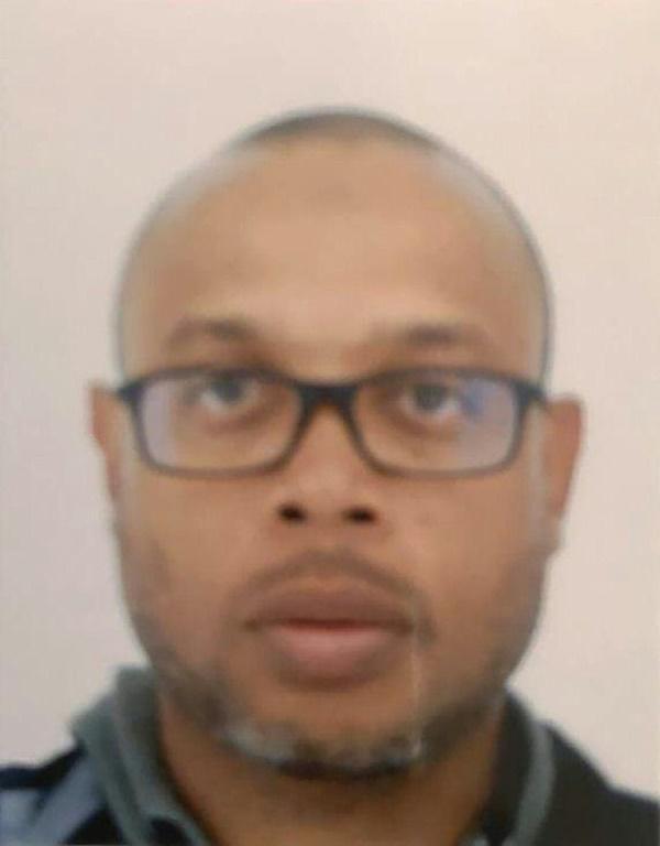 Photo non datée de Mickael Harpon, l'informaticien qui a assassiné 4 personnes au sein de la préfecture de police de Paris le 3 octobre 2019 avant d'être tué [- / AFP/Archives]
