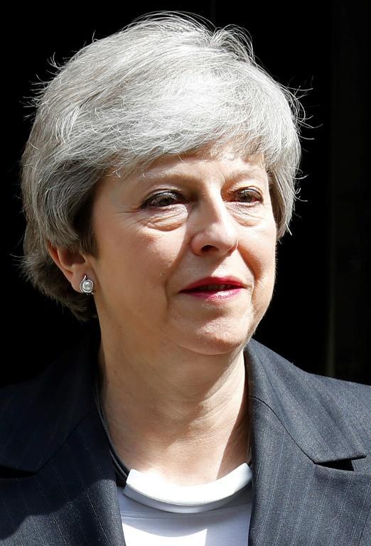 La Première ministre britannique Theresa May à Londres le 22 mai 2019 [Tolga AKMEN / AFP]