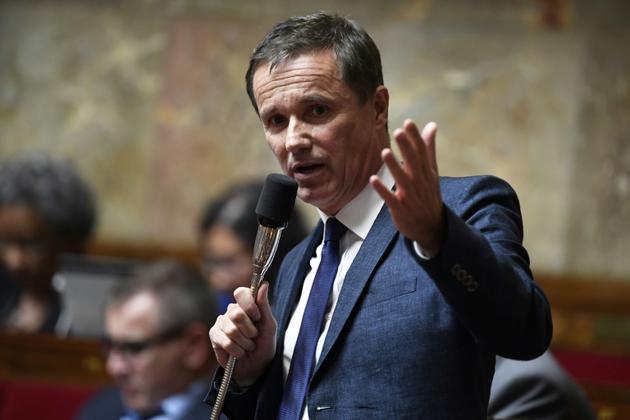Le député et président de Debout la France Nicolas Dupont-Aignan à l'Assemblée nationale le 5 juin 2018 [Bertrand GUAY / AFP/Archives]