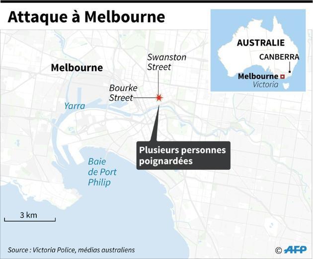 Attaque à Melbourne [Gal ROMA  / AFP]