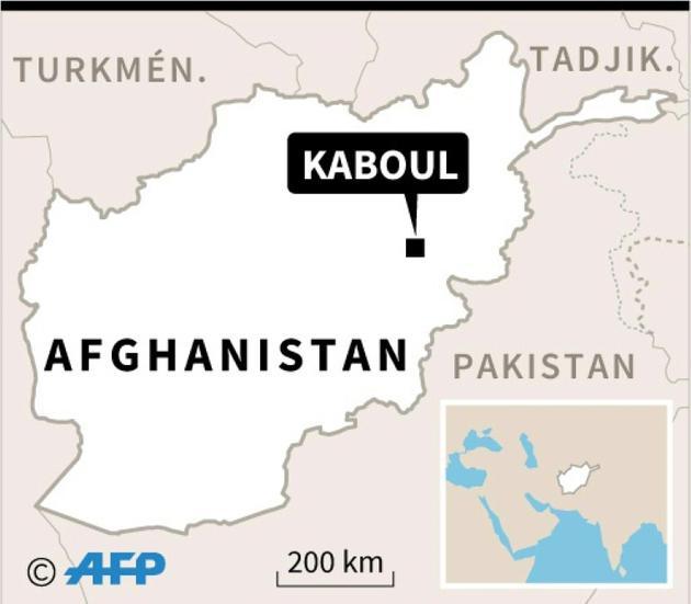 Carte de l'Afghanistan localisant Kaboul [afp / AFP]