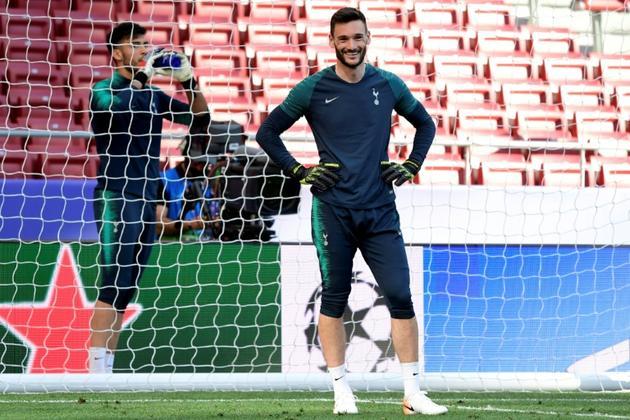 Hugo Lloris, le gardien français de Tottenham, le 31 mai 2019 à Madrid [JAVIER SORIANO / AFP]