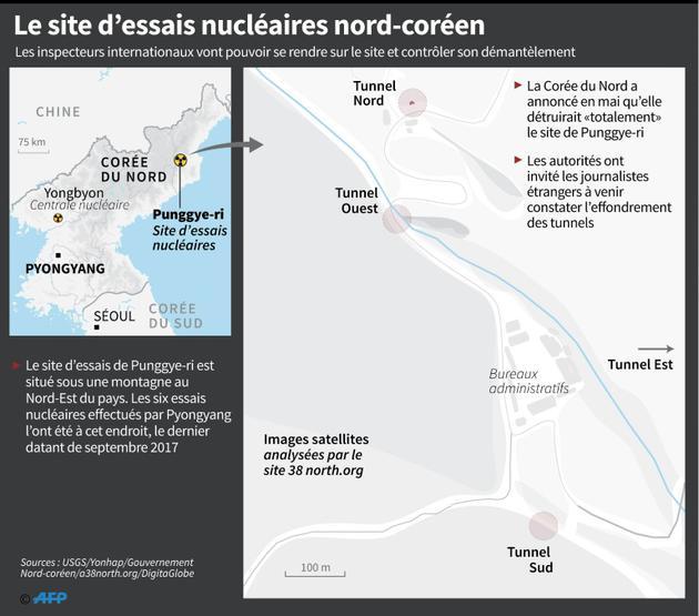 Le site d'essais nucléaires Nord-coréen [Laurence CHU / AFP/Archives]