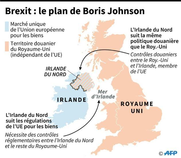 Brexit : le plan de Boris Johnson [Gillian HANDYSIDE / AFP]