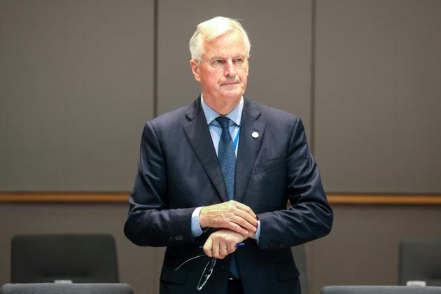 Le négociateur en chef du Brexit pour l'Union européenne, Michel Barnier à Bruxelles, le 29 juin 2018 [Ludovic MARIN / AFP]