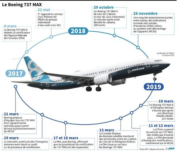 Le Boeing 737 MAX [Alain BOMMENEL / AFP]