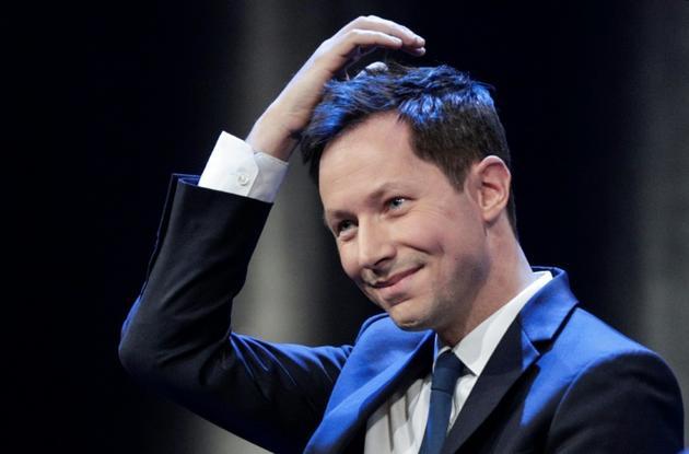 La tête de liste LR Francois-Xavier Bellamy , à Paris, le 15 mai 2019 [Geoffroy VAN DER HASSELT / AFP/Archives]