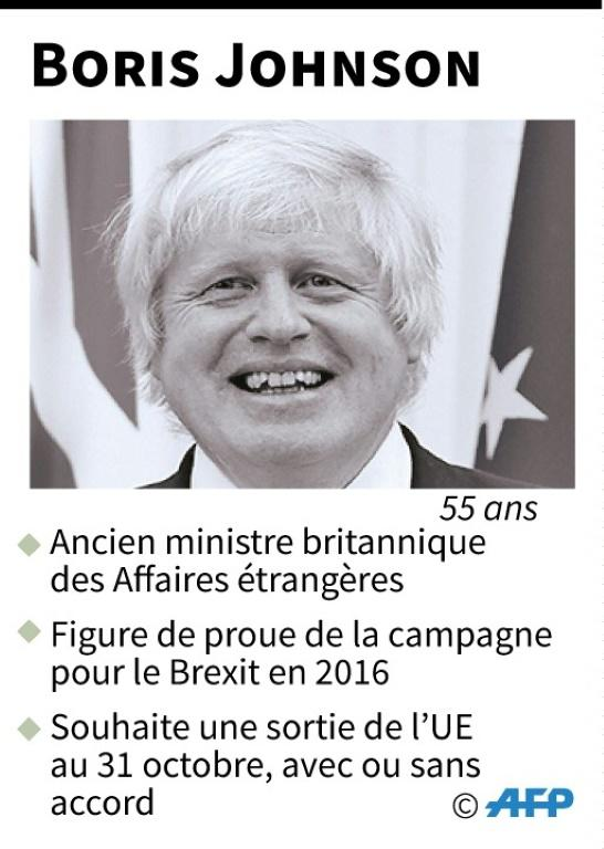 Boris Johnson [Gillian HANDYSIDE / AFP]