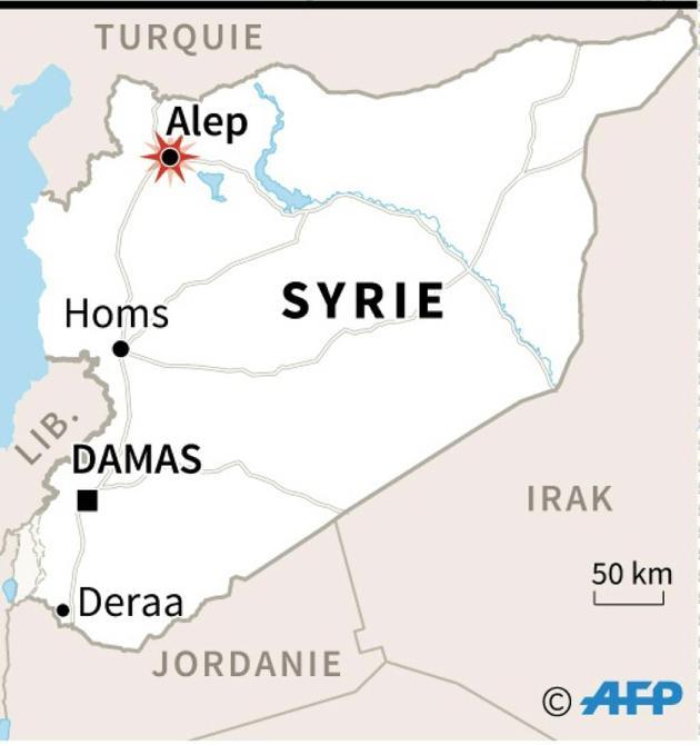 Syrie [AFP   / AFP]
