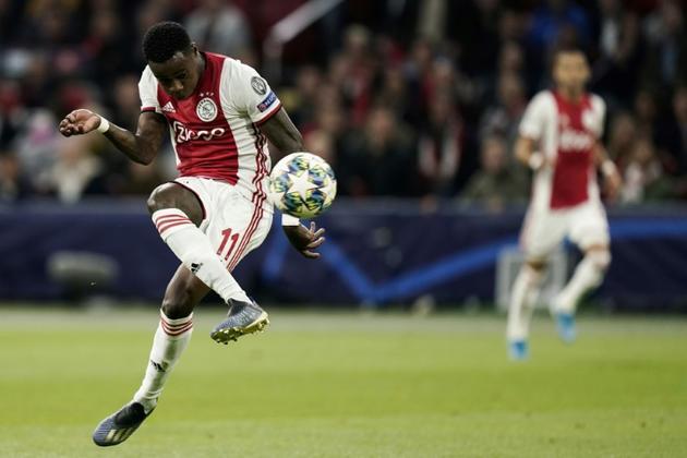 L'attaquant de l'Ajax Amsterdam Quincy Promes buteur lors de la victoire à domicile sur Lille 3-0 en 1re journée de Ligue des champions le 17 septembre 2019 [KENZO TRIBOUILLARD / AFP]