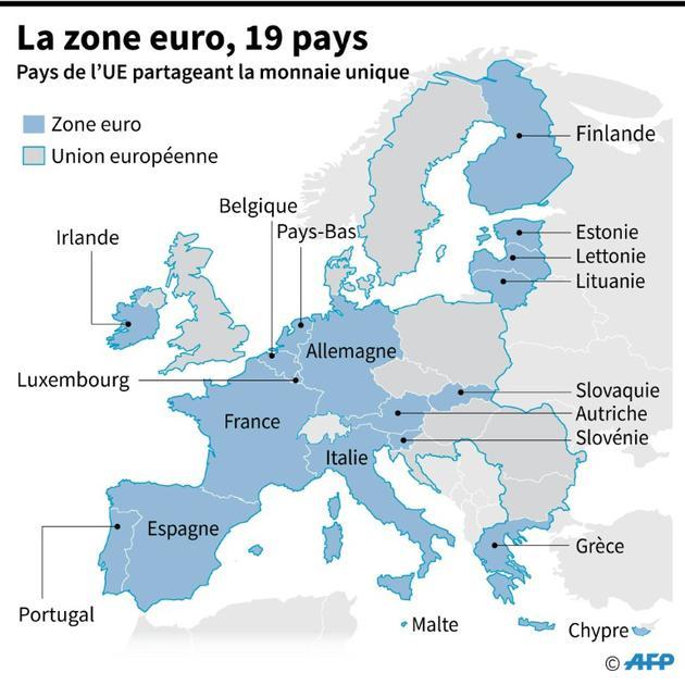 La zone euro [Jean Michel CORNU / AFP]