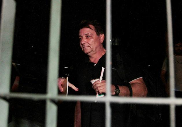 Cesare Battisti, 63 ans, a été condamné en 1993 à la réclusion à perpétuité pour quatre meurtres et complicité de meurtres à la fin des années 1970 [REGINALDO CASTRO / AFP/Archives]