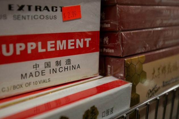 Des produits d'importation chinois à Washington, le 9 août 2019 [Alastair Pike / AFP/Archives]