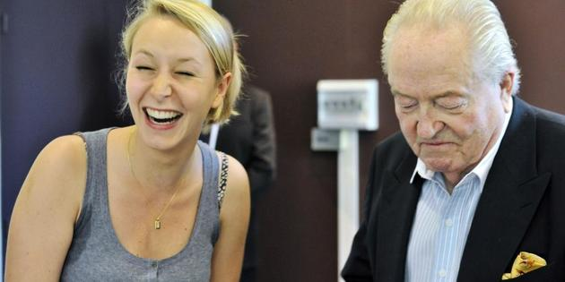 Marion Maréchal Le Pen aux côtés de son grand-père !