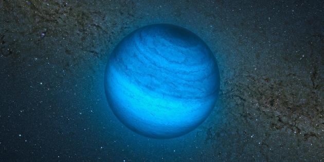 Découverte d'une planète dérivant dans le vide intersidéral
