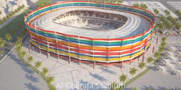 Coupe du monde de foot 2022 au qatar un chantier for Maison du monde qatar