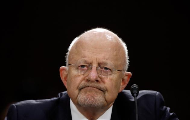 Le directeur du renseignement américain, James Clapper, le 18 avril 2013 devant une commission du Sénat à Washington [Win Mcnamee / Getty Images/AFP/Archives]