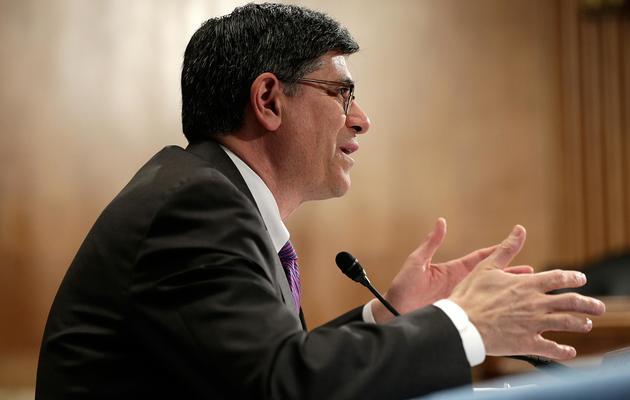 Le secrétaire au Trésor américain, Jacob Lew, le 8 mai 2013 à Washington [Win Mcnamee / Getty Images/AFP]