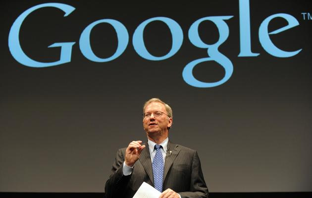 Le patron de Google, Eric Schmidt, le 25 septembre 2012 à Tokyo [Yoshikazu Tsuno / AFP]