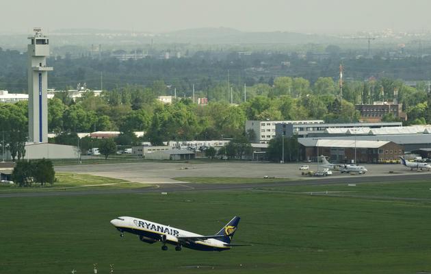 Un avion Ryanair décolle de l'aéroport de Berlin, le 4 mai 2012 [John Macdougall / AFP/Archives]