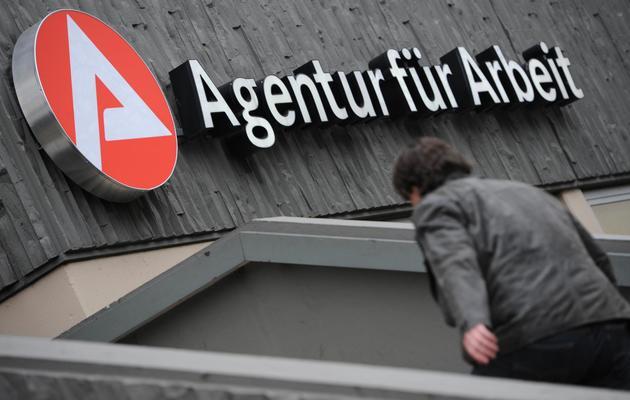 Une agence pour l'emploi dans l'ouest de l'Allemagne [Arne Dedert / AFP/Archives]