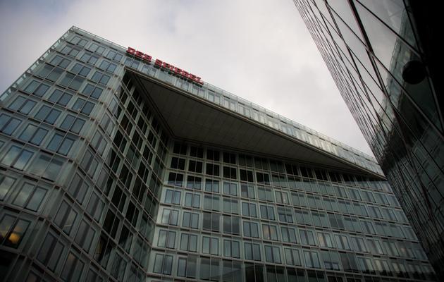 Le siège du magazine allemand Der Spiegel, photographié le 29 novembre 2012 à Hambourg [Johannes Eisele / AFP/Archives]
