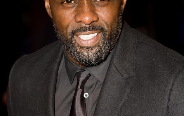 L'acteur britannique  Idris Elba à Londres le 5 décembre 2012 [Leon Neal / AFP/Archives]