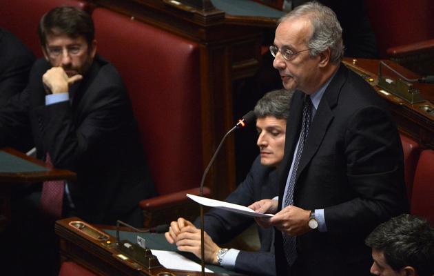 L'ex-maire de Rome Walter Veltroni, le 21 décembre 2012 à Rome [Alberto Pizzoli / AFP/Archives]