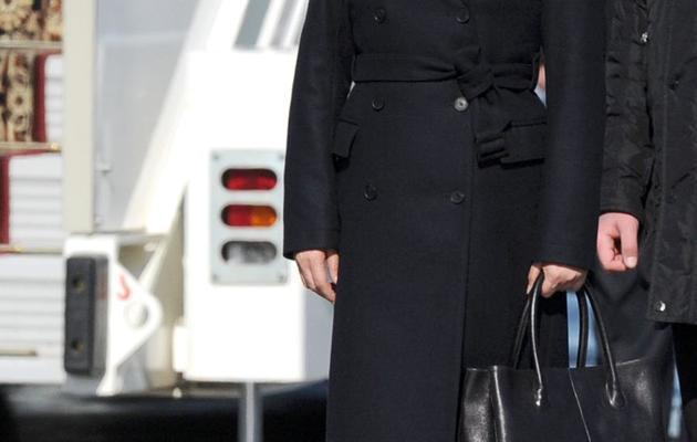 Peng Liyuan, le Première dame chinoise, à son arrivée le 22 mars 2013 pour une visite en Russie [Alexander Nemenov / AFP/Archives]