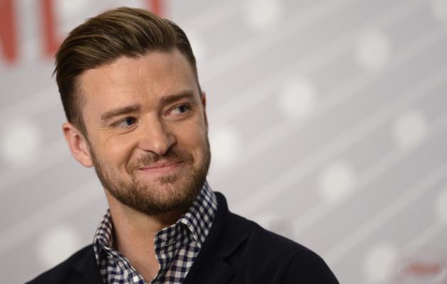 L'acteur et chanteur américain Justin Timberlake pose le 19 mai 2013 à Cannes [Anne-Christine Poujoulat / AFP]
