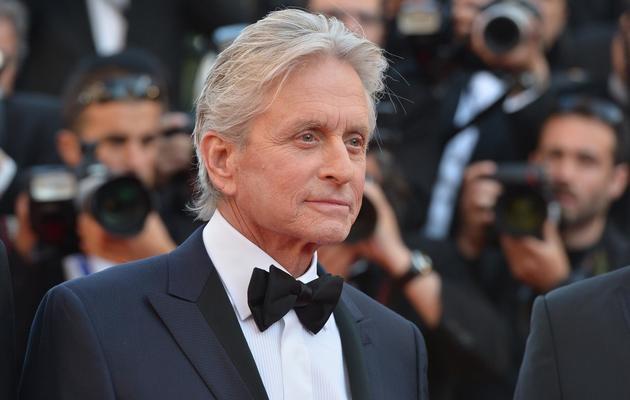 Michael Douglas le 21 mai 2013 à Cannes [Alberto Pizzoli / AFP]